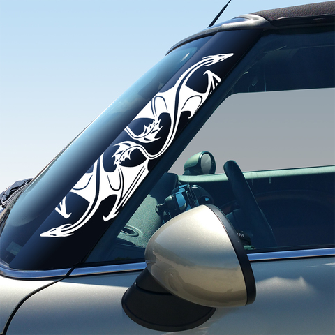 Dragons Pillar Decals for 2nd Generation Hardtop and Convertible MINI Cooper - Set of 2 Product Page