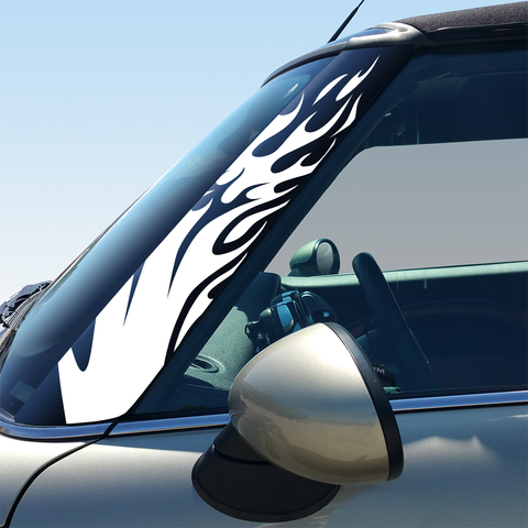 Flames Pillar Decals for 2nd Generation Hardtop and Convertible MINI Cooper - Set of 2 Product Page