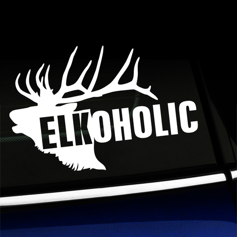 Elkoholic - Vinyl Decal Product Page