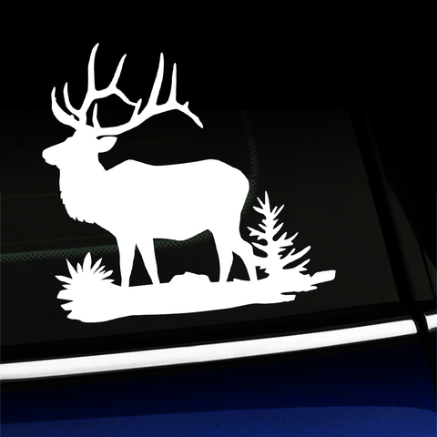 Bull Elk Full Body - Vinyl Decal Product Page