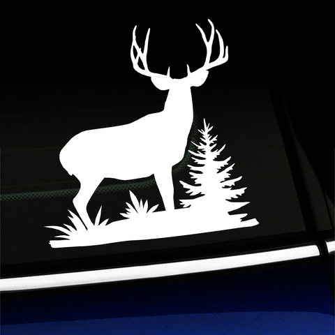 Mule Deer Buck Full Body - Vinyl Decal Product Page