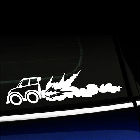 Rocket Car - Vinyl Decal Product Page