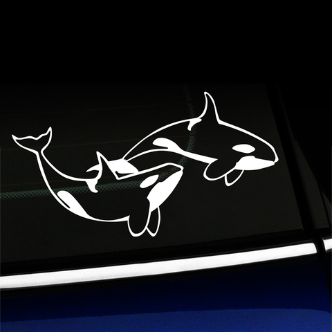 Orcas - Killer Whales Vinyl Decal Product Page