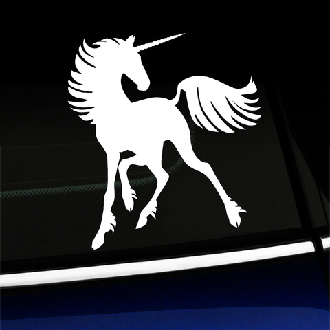 Unicorn - Vinyl Decal Product Page