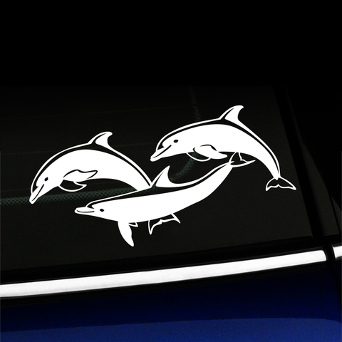 Dolphins - Vinyl Decal Product Page
