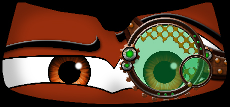 Steampunk Monocle - Eyeshade Product Page