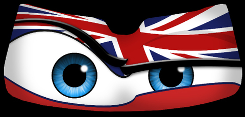 Union Jack - Eyeshade Product Page