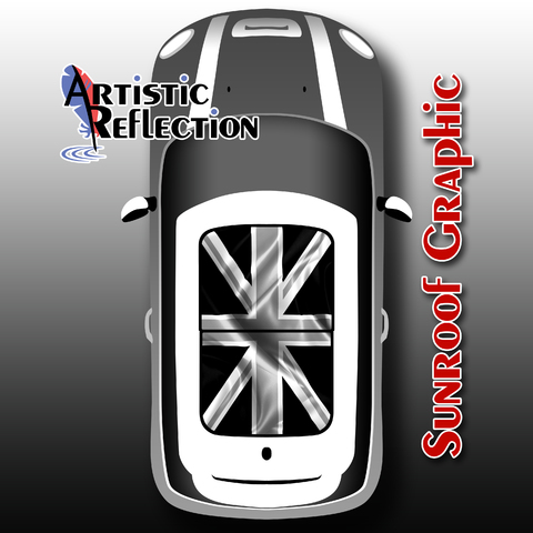 Black Jack Sunroof Graphic for MINI Cooper Product Page