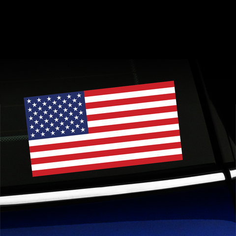United States Flag - Full Color Sticker Product Page