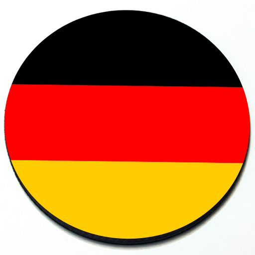 German Flag - Magnetic Grill Badge for MINI Cooper Product Page