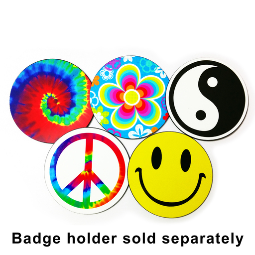 Badge Groovy Set - Magnetic Grill Badges for MINI Cooper Product Page
