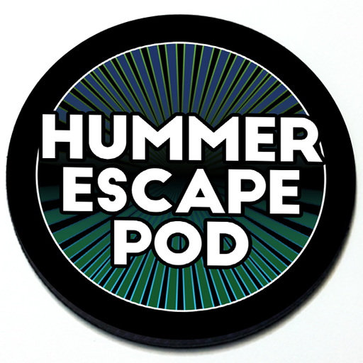 Hummer Escape Pod - Grill Badge Product Page