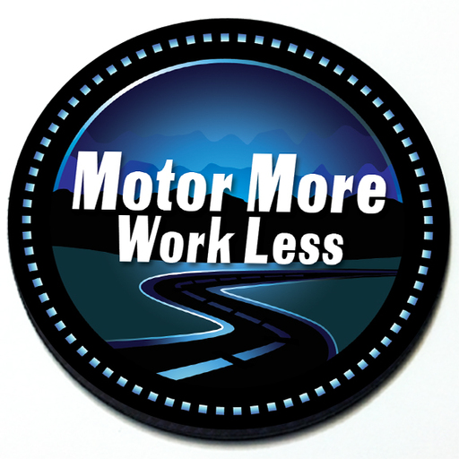 Motor More Work Less Badge Product Page