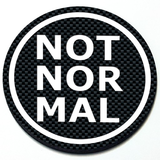 Not Normal - Grill Badge for MINI Cooper