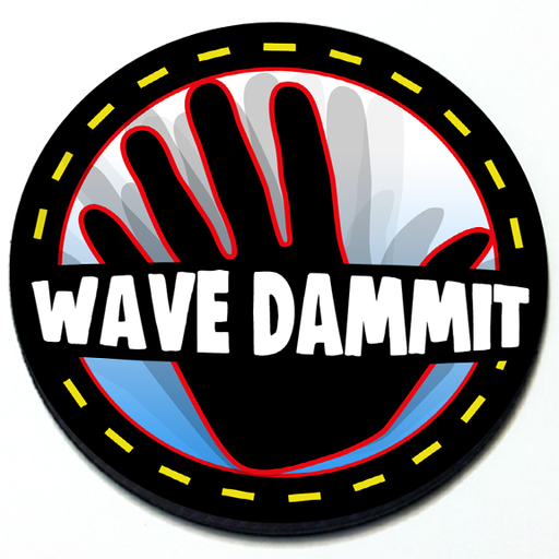 Wave Dammit Badge Product Page