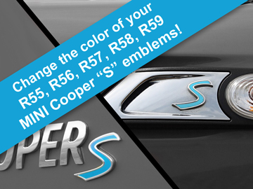 S Decal Replacements For Mini Cooper S 2nd Gen R55 R56 R57