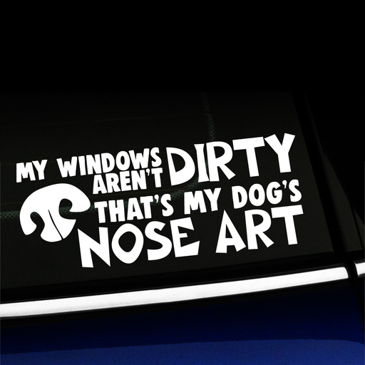 My Windows Aren't Dirty - Decal Product Page
