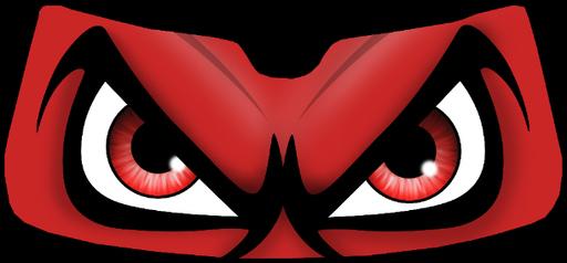 evil cartoon eyes - 500×500