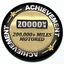 Achievement 200,000 Miles Motored - Grill Badge thumbnail