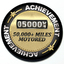 Achievement 50,000 Miles Motored - Grill Badge thumbnail