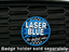 Laser Blue - Grill Badge