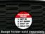 Passenger Rules - Magnetic Grill Badge for MINI Cooper