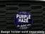 Purple Haze - Grill Badge
