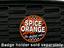 Spice Orange - Grill Badge