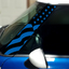 Pillar Decals (R50, R52, R53) US Flag Front - 1st Generation Hardtop MINI Cooper - Set of 2