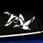 Flying Ducks - Vinyl Decal thumbnail
